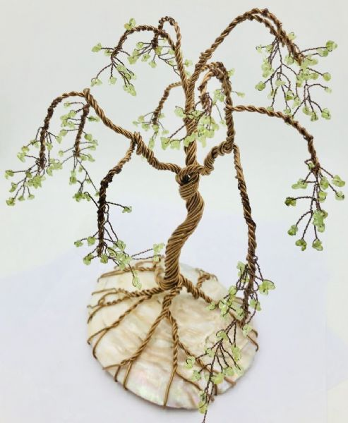 Thur 19th Mar 10.30 - 12.30 Learn how to make a wire wrapped tree